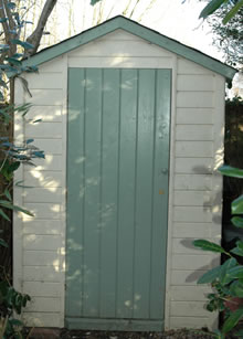 Building a high quality garden shed