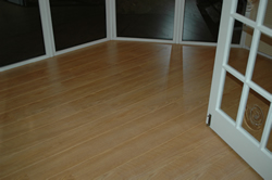Finished laminate floor